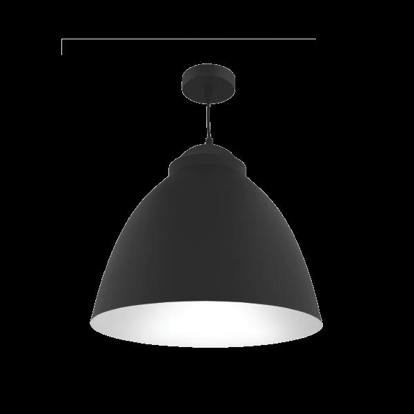 Ceiling Light - JFO-BLK-SLPEA138E27