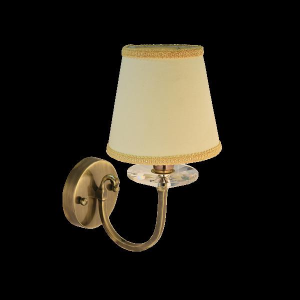 Wall Lamp Premium | SKU: WBR-ABR-FBCRYS155