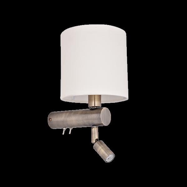 Wall Lamp Premium   SKU: WBR-CHR-WLRDFAB150