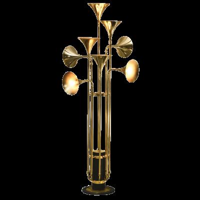 FLOOR LAMPS - STL-GLD-FL1133F