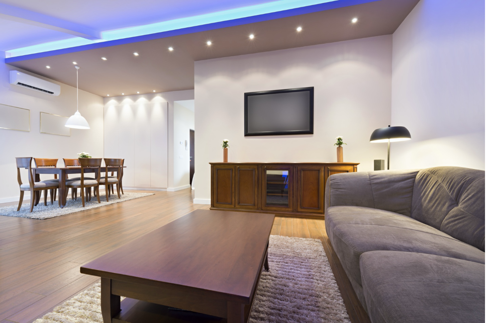 How To Use Led Strip Lights Around the Ceiling?